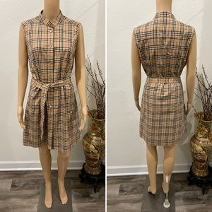 Burberry London shirt dress M